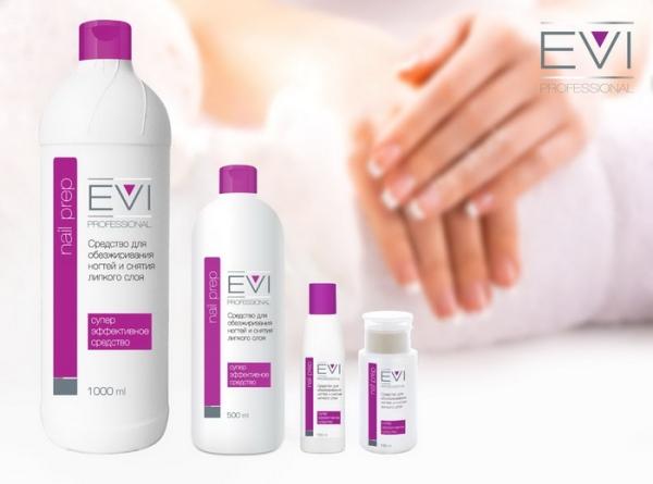 EVI Средство для обезжиривания ногтей и снятия липкого слоя 150 мл/22 шт