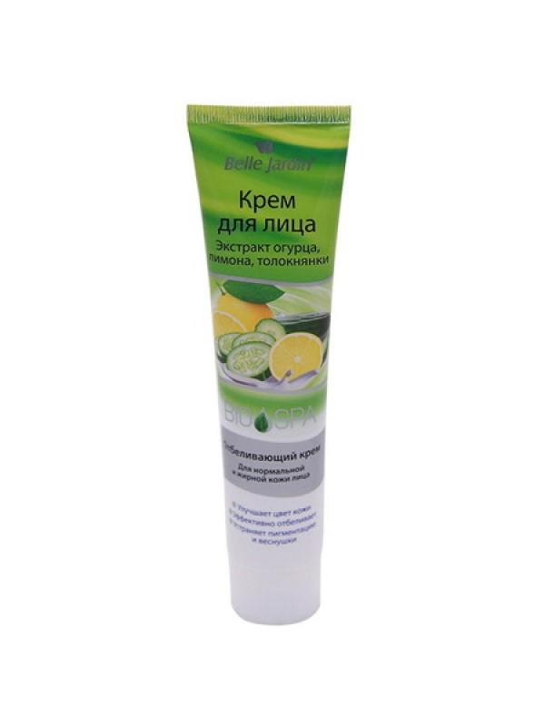 B.J.Spa naturelle Bio 125 мл Крем Экстракт огурца, лимона, толокнянки  для лица