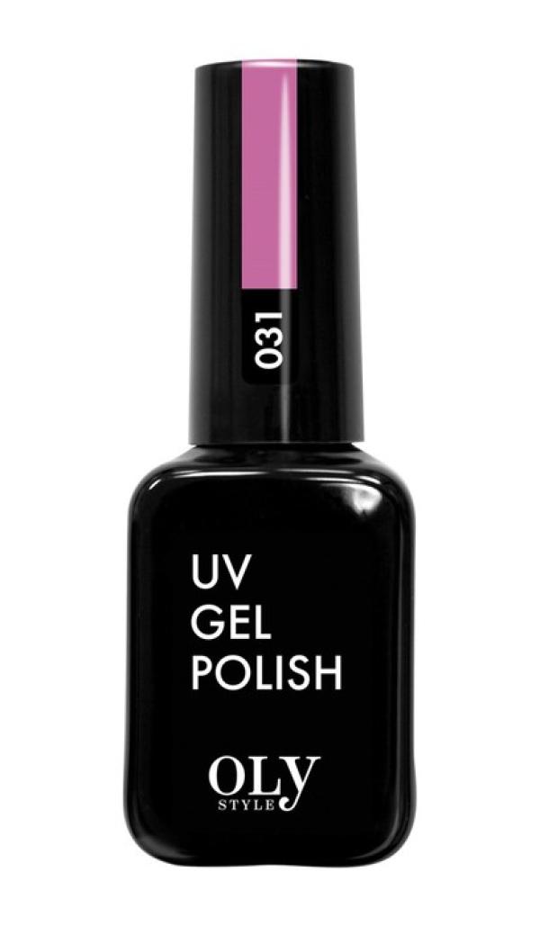 Гель лак  OLYSTYLE  тон 031 лилово-розовый