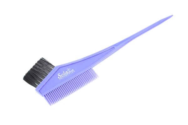 SOLAmio  #RB-303 Кисточка  с расческой для окраски волос   (120/1200)