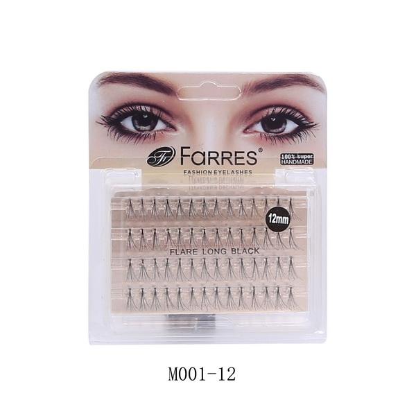 Farres M001-12 Пучки для наращивания ресниц (*12*600)