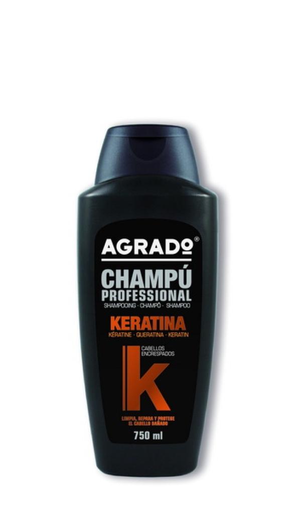 """AGRADO Профессиональный шампунь """"Keratin"""" , 750ml"""