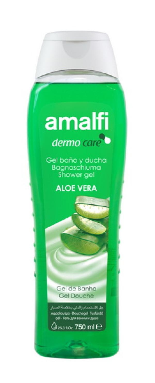 "AMALFI  Гель для ванн и душа ""Aloe Vera"",  750ml"