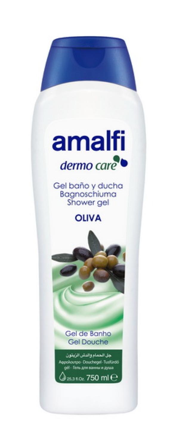 "AMALFI  Гель для ванн и душа ""Olive"",  750ml"