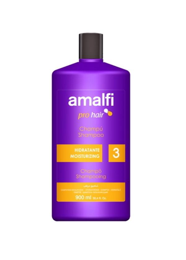 """AMALFI  Профессиональный шампунь для волос """"Moisturizing"""",  900ml"""