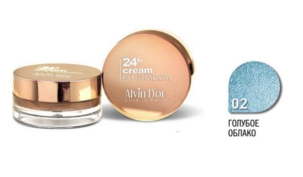 """AES-15 Тени д/век """"Alvin D`or"""" 24h Cream EyeShadow (тон 02)"""
