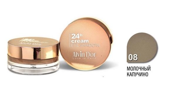 """AES-15 Тени д/век """"Alvin D`or"""" 24h Cream EyeShadow (тон 08)"""