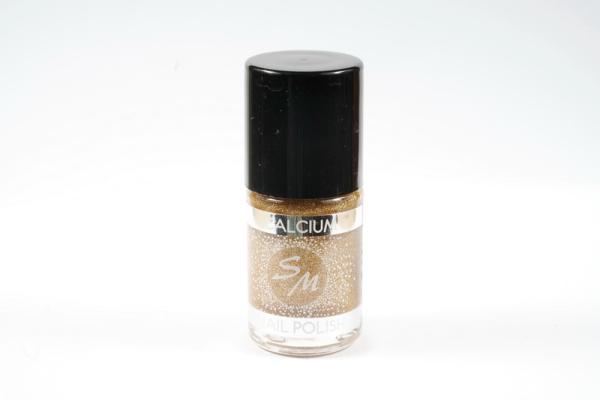 SM  №44  Лак для ногтей с кальцием 11 мл.   (12)  Золотой песок