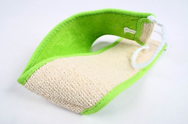 Мочалка N-5034 GREEN  для тела          (25/100)