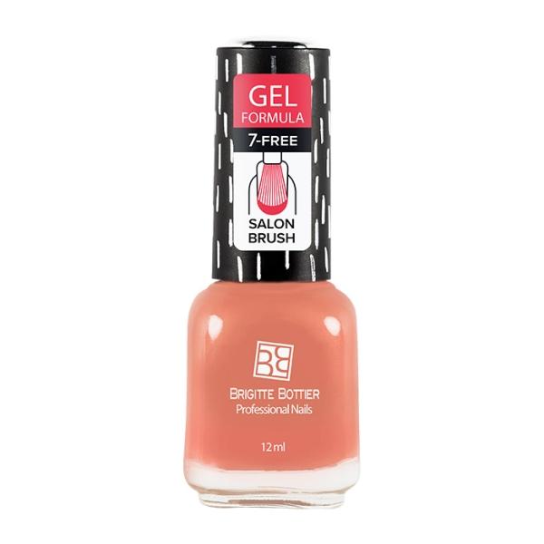 Бриджит Ботье гелевый лак GF тон 06 кремово-розовый