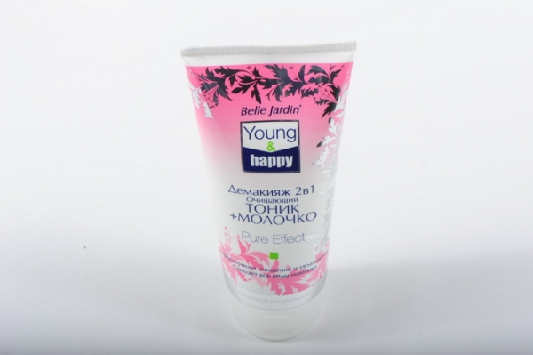 B.J.Young & Happy Тоник + молочко 200 мл.Демакияж 2в1 очищающий