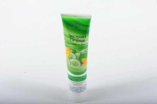 B.J.Spa naturelle Bio 125 мл Крем Экстракт огурца + коллаген и эластин  для лица